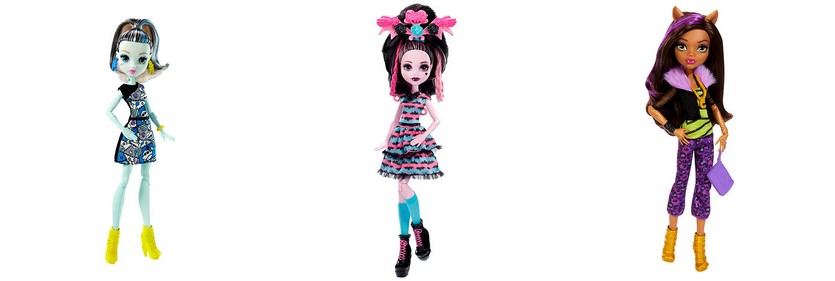Скидки 60% на EVER AFTER HIGH и MONSTER HIGH в магазине TOY.RU
