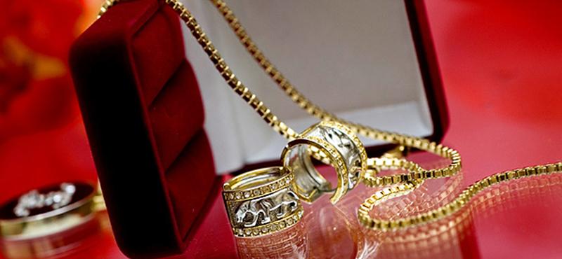 Подарок из золота на день рождения